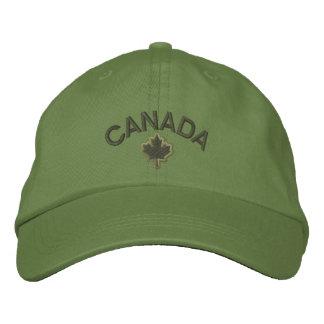 Kanadensisk lönnlövbroderi Kanada Broderad Keps