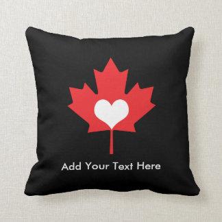 Kanadensisk pride - jag älskar den Kanada Kudde