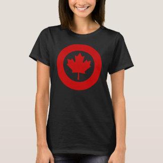 Kanadensisk Roundel utslagsplatsskjorta Tee