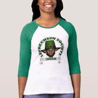 Kanadensisk trollsamhällest patricks day t-shirt