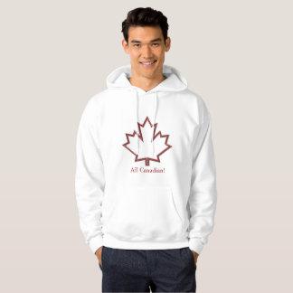 Kanadensiska lönnlövmanar Hoodie