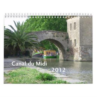 Kanal du Midi 2012 Kalender