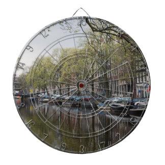 Kanaler i Amsterdam, Holland Piltavla