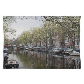 Kanalerna av Amsterdam Bordstablett