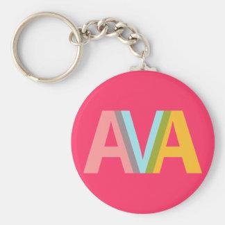 Känd design - AVA Rund Nyckelring