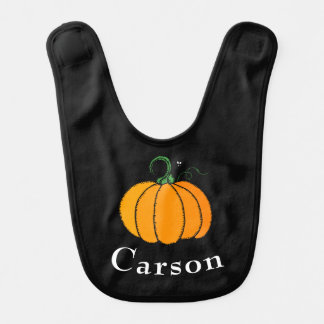 Känd Halloween för personlig pumpa Hakklapp
