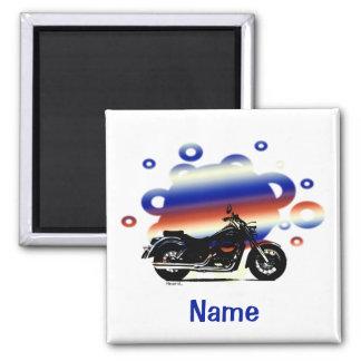 Känd magnet för motorcykel