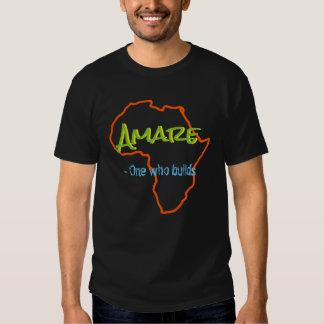 Känd och menande utslagsplats för afrikan tröjor