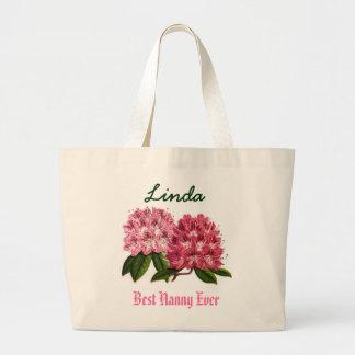 Känd Rhododendron för bäst för barnflicka anpassni Jumbo Tygkasse
