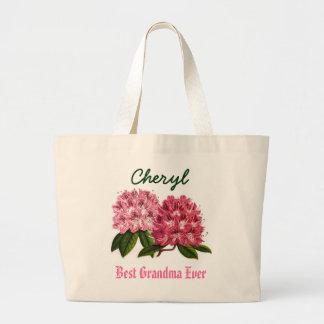 Känd Rhododendron för bäst för mormor anpassningsb Jumbo Tygkasse