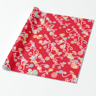 Känd slående in papper för barn för presentpapper