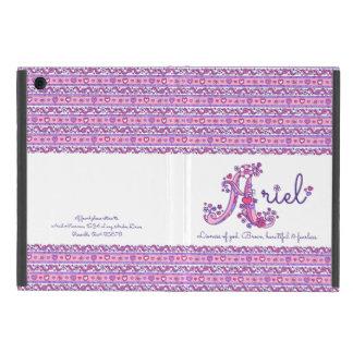 Kända Ariel flickor A och menande purpurfärgat iPad Mini Skal
