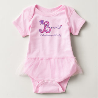 Kända Bonnie flickor & menande b-monogramskjorta T-shirts