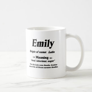Kända menande 'Emily Kaffemugg