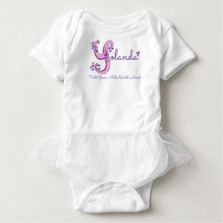 Kända Yolanda flickor & menande y-monogramskjorta Tröjor