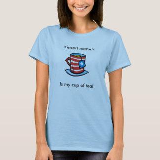 KandidatT-tröja - min kopp av Tea T Shirt