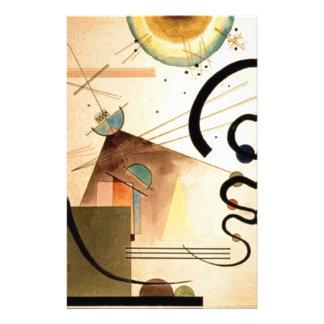 Kandinsky abstrakt brevpapper