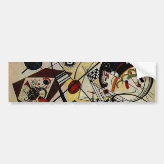 Kandinsky fodrar Transverse obrutet Bildekal