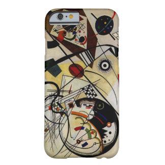 Kandinsky fodrar Transverse obrutet fodral för Barely There iPhone 6 Skal