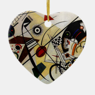 Kandinsky fodrar Transverse obrutet Julgransprydnad Keramik