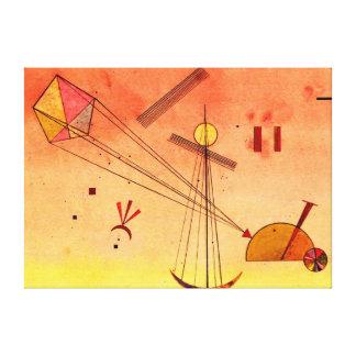 Kandinsky - ljust tillbehör canvastryck