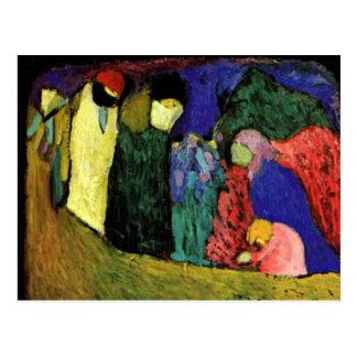 Kandinsky - möte vykort
