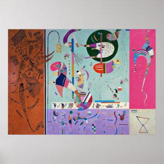 Kandinsky - olika delar poster