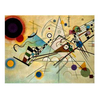Kandinsky - sammansättning VIII Vykort