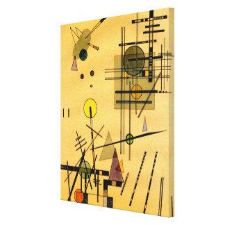 Kandinsky - stränger canvastryck