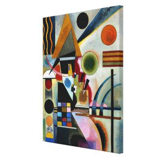 Kandinsky - svänga canvastryck