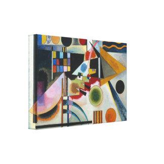 Kandinsky svängande abstrakt målning canvastryck