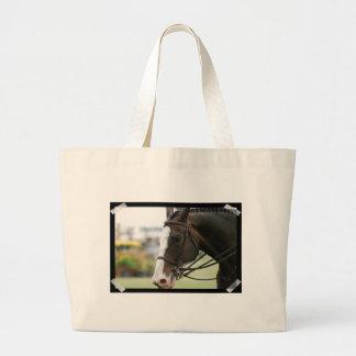 Kanfas för det Warmblood hästfotoet hänger lös Tote Bag