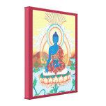 KANFAS - medicin Buddha - Buddha av att läka Canvastryck