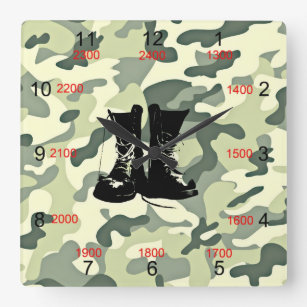 Soldat Klockor | Zazzle.se