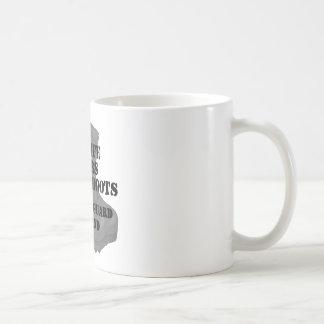 Kängor för strid för medborgarevaktmake kaffemugg