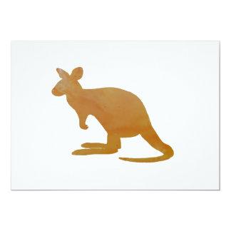 Känguru 12,7 X 17,8 Cm Inbjudningskort