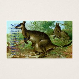 Känguru Visitkort