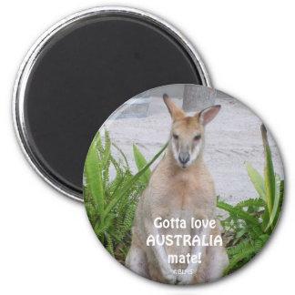 Känguruhar till loveAUSTRALIAmate! , ©BLHS Magnet