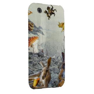 Känguruhelgdag iPhone 3 Cases