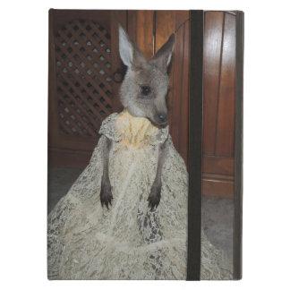 Känguruunge känguru iPad air fodral