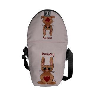 Kanin Birthstone Messenger Bag