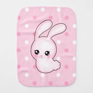 Kanin för påskhare för Chibi Anime rosa