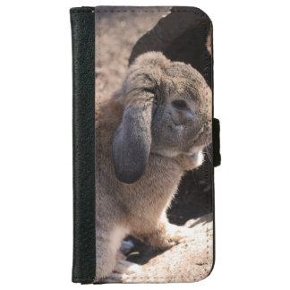 Kanin Plånboksfodral För iPhone 6/6s