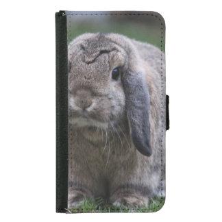 kanin plånboksfodral för samsung galaxy s5
