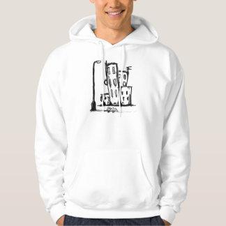 kanin sweatshirt med luva