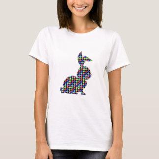 KANINEN för kanin NVN87 pricker den målade T Shirt