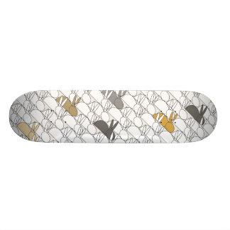 kaniner old school skateboard bräda 18 cm