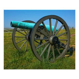 Kanon - Gettysburg nationalpark - Pennsylvania Fototryck