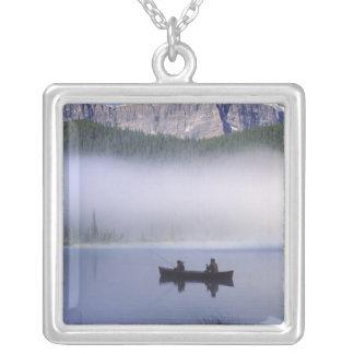 KanotfiskeWaterfowl medborgare för sjö, Banff Silverpläterat Halsband