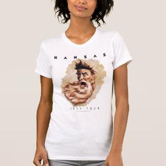 KANSAS - 1974 turnerar T-shirt